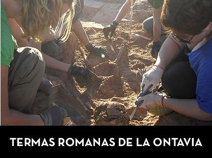 TERMAS ROMANAS DE LA ONTAVIA