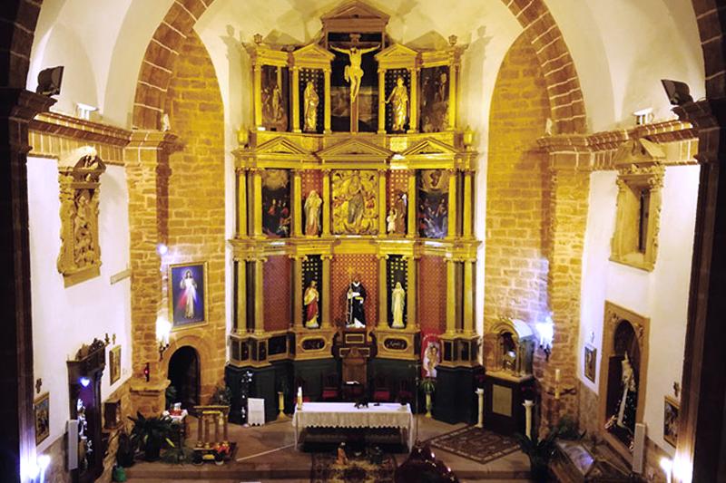 retablo iglesia de santo domingo de guzmán